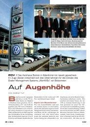 Auf Augenhöhe - betzemeier automotive software GmbH & Co.KG