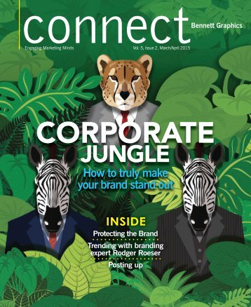 Connect Magazine - Bennett Graphics