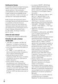Sony BDP-S3200 - BDP-S3200 Istruzioni per l'uso Finlandese - Page 6