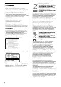 Sony BDP-S5200 - BDP-S5200 Simple Manual Russo - Page 2