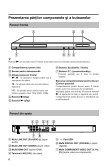 Sony BDP-S280 - BDP-S280 Istruzioni per l'uso Rumeno - Page 6