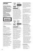 Sony DVP-SR760H - DVP-SR760H Guida di riferimento Lettone - Page 2