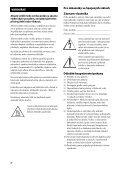 Sony STR-DH820 - STR-DH820 Istruzioni per l'uso Ceco - Page 2