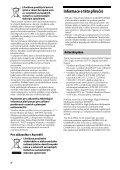 Sony STR-DH820 - STR-DH820 Istruzioni per l'uso Ceco - Page 4