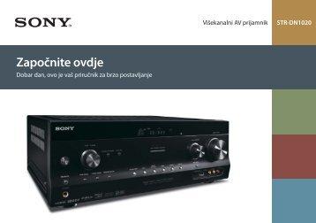 Sony STR-DN1020 - STR-DN1020 Guida di configurazione rapid Croato