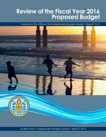 Review of the Fiscal Year 2016 Proposed Budget
