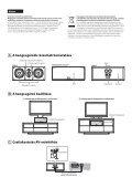 Sony SS-NA8ES - SS-NA8ES Istruzioni per l'uso Ungherese - Page 2
