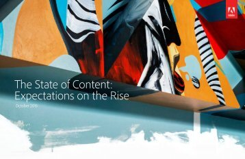 The State of Content Expectations on the Rise