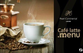 Cafe Latte - Menu (2)