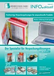 seit 50 Jahren aktuell - Heinrich Buhl GmbH