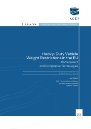 Heavy-Duty Vehicle Weight Restrictions in the EU