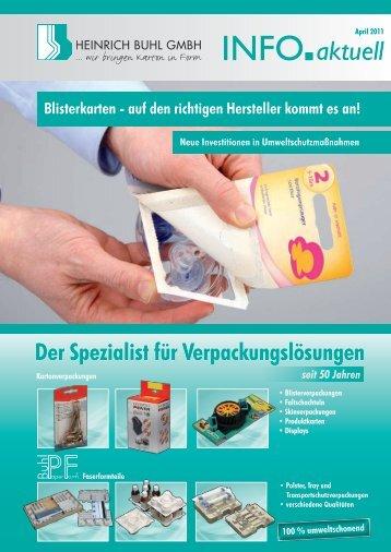 aktuell INFO - Heinrich Buhl GmbH