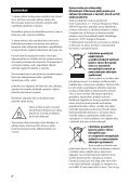 Sony STR-DA2800ES - STR-DA2800ES Istruzioni per l'uso Ceco - Page 2