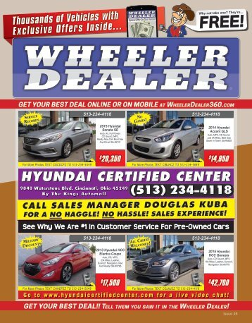 Wheeler Dealer Issue 48, 2015