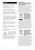 Sony STR-DA2800ES - STR-DA2800ES Istruzioni per l'uso Lituano - Page 2