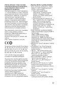 Sony HT-XT3 - HT-XT3 Istruzioni per l'uso Lituano - Page 3