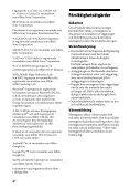 Sony STR-DN1050 - STR-DN1050 Guida di riferimento Svedese - Page 4