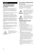 Sony STR-DH520 - STR-DH520 Istruzioni per l'uso Ceco - Page 2