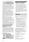 Sony STR-DH520 - STR-DH520 Istruzioni per l'uso Ceco - Page 4