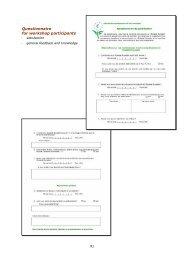 Questionnaire for workshop participants - EU Ecolabel Marketing for ...