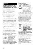 Sony STR-DN1040 - STR-DN1040 Istruzioni per l'uso Lituano - Page 2