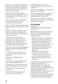 Sony STR-DN1040 - STR-DN1040 Guida di riferimento Svedese - Page 4