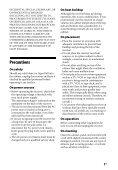 Sony STR-DN1040 - STR-DN1040 Guida di riferimento Svedese - Page 5