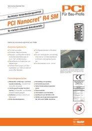 Hochfester Instandsetzungsmörtel PCI Nanocret ® R4 SM