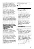 Sony STR-DN1040 - STR-DN1040 Istruzioni per l'uso Sloveno - Page 3
