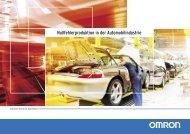 Automotive industry Broschüre - Omron Europe