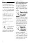 Sony STR-DA3700ES - STR-DA3700ES Istruzioni per l'uso Sloveno - Page 2