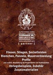 Innengestaltung Naturstein 2016
