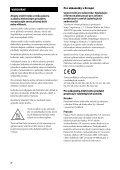 Sony STR-DN1030 - STR-DN1030 Istruzioni per l'uso Ceco - Page 2