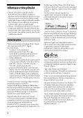 Sony STR-DN1030 - STR-DN1030 Istruzioni per l'uso Ceco - Page 4