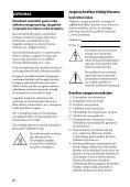 Sony STR-DH740 - STR-DH740 Istruzioni per l'uso Lituano - Page 2