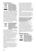 Sony STR-DH740 - STR-DH740 Istruzioni per l'uso Lituano - Page 4