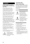 Sony STR-DH740 - STR-DH740 Istruzioni per l'uso Serbo - Page 2