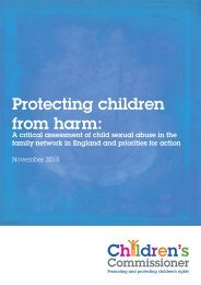 Protecting children from harm