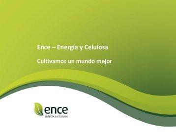 Ence – Energía y Celulosa