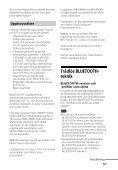 Sony HT-CT660 - HT-CT660 Istruzioni per l'uso Svedese - Page 5