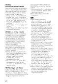 Sony HT-CT660 - HT-CT660 Istruzioni per l'uso Svedese - Page 6