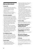 Sony HT-CT60 - HT-CT60 Istruzioni per l'uso Bosniaco - Page 4