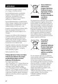 Sony HT-CT60 - HT-CT60 Istruzioni per l'uso Lituano - Page 2