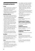 Sony HT-CT60 - HT-CT60 Istruzioni per l'uso Lituano - Page 4