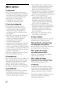 Sony HT-CT660 - HT-CT660 Istruzioni per l'uso Croato - Page 4