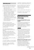 Sony HT-CT660 - HT-CT660 Istruzioni per l'uso Croato - Page 5