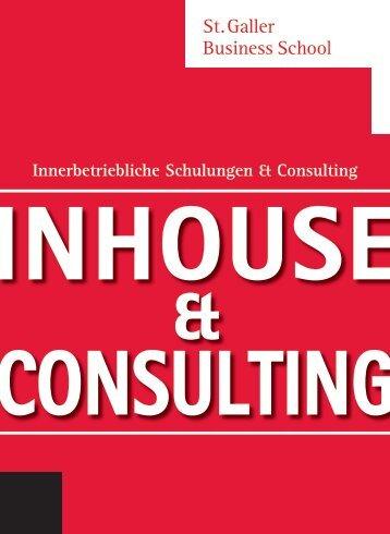 Massgeschneiderte Inhouse Seminare und Management Beratung