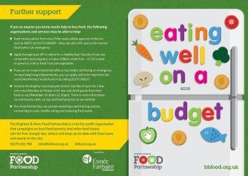 Eatwell on a Budget Leaflet 2015