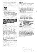 Sony STR-DH130 - STR-DH130 Istruzioni per l'uso Lituano - Page 3