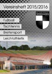 Vereins Heft 2015